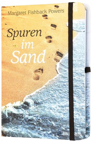 Notizbuch ''Spuren im Sand''