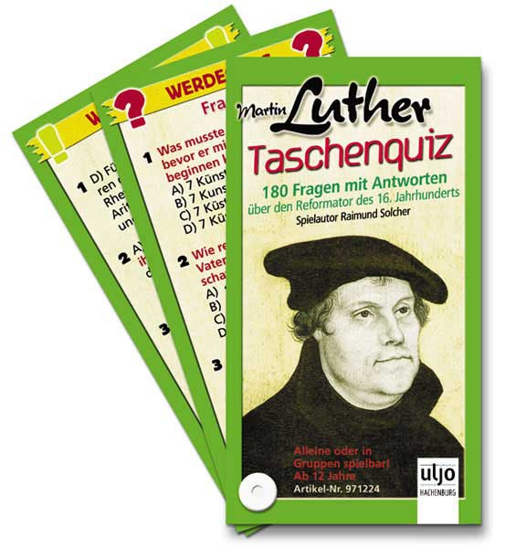 Taschenquiz ''Martin Luther''