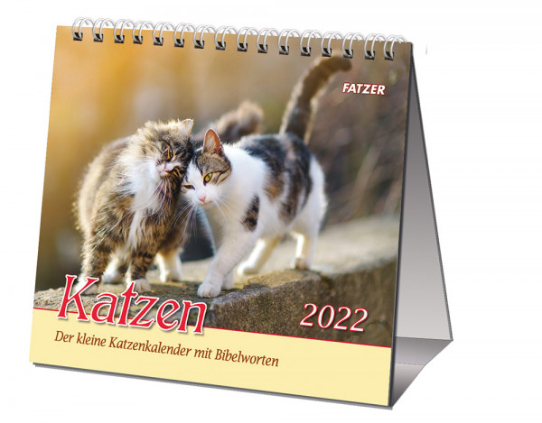 Katzen 2022 - Tischkalender