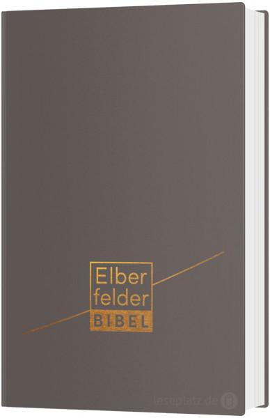 Elberfelder Bibel 2006 Taschenausgabe - Leder grau