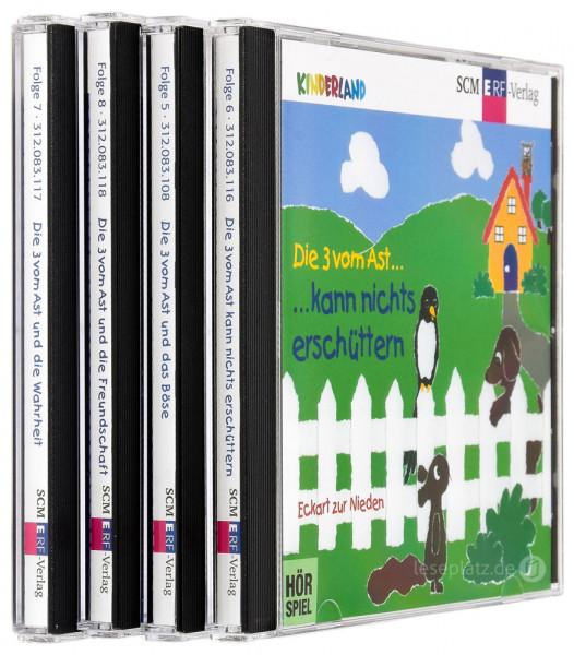 Die 3 vom Ast ... - CD-Folge 5-8 im Paket