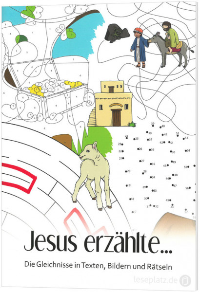 Jesus erzählte ... - Rätselheft