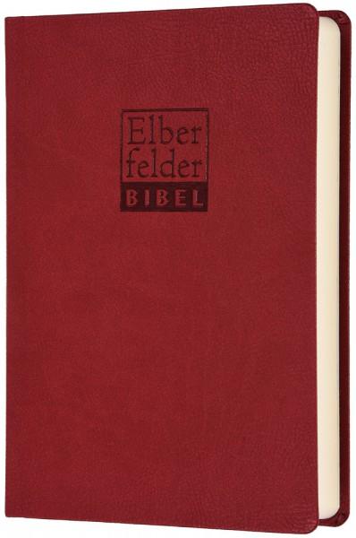 Elberfelder Bibel 2006 Standardausgabe - ital. Kunstleder rot