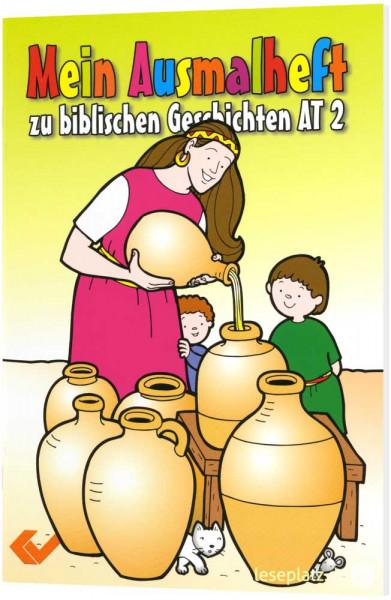 Mein Ausmalheft zu biblischen Geschichten - AT 2