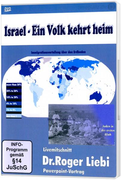 Israel - Ein Volk kehrt heim - DVD Powerpoint-Vortrag von Dr. Roger Liebi