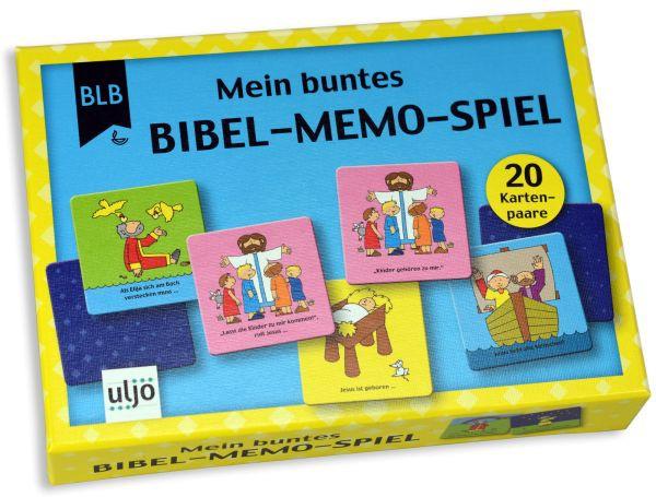 """Mein buntes """"Bibel-Memo-Spiel"""""""