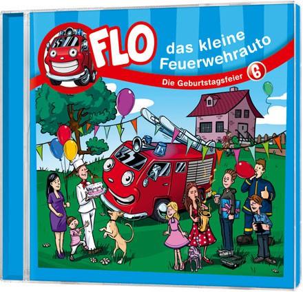 Flo - Das kleine Feuerwehrauto (6) - CD