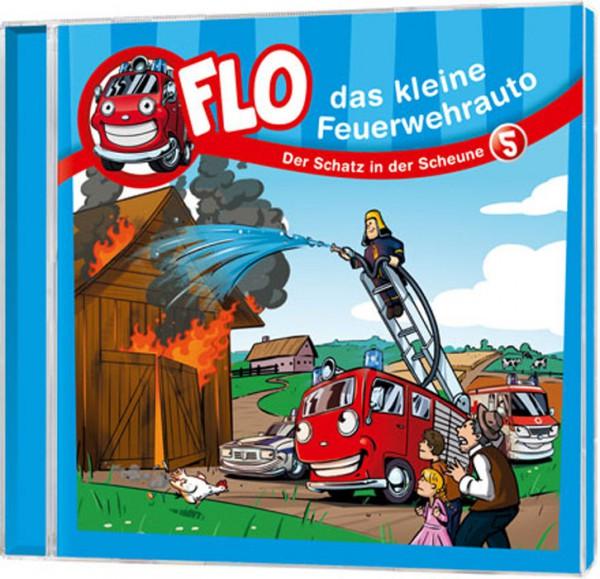 Flo - Das kleine Feuerwehrauto (5) - CD