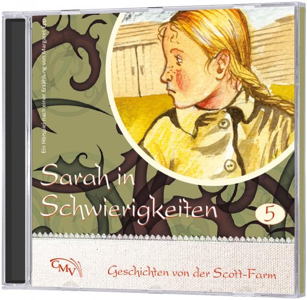Sarah in Schwierigkeiten (5) - CD