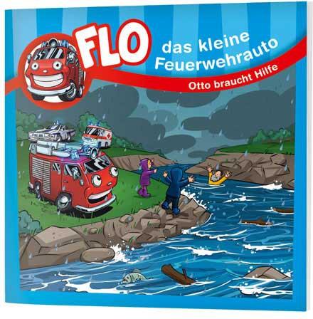 """Flo, das kleine Feuerwehrauto - Mini-Buch """"Otto braucht Hilfe"""""""