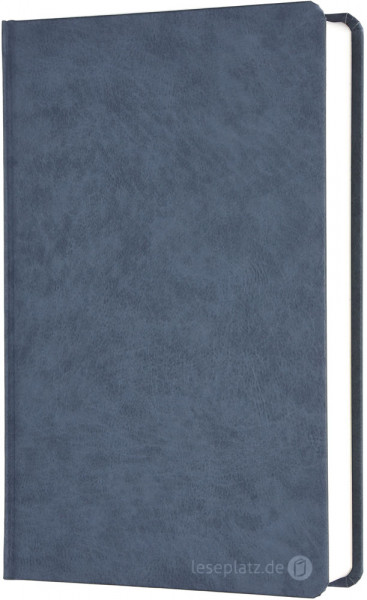 Elberfelder 2003 - Großdruckausgabe / Hardcover grau-blau